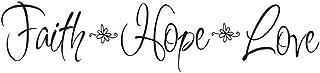 Best faith hope love decal Reviews
