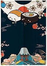 myru Japanischer Vorhang Lucky Cat Noren Koi Fisch Noren Jap