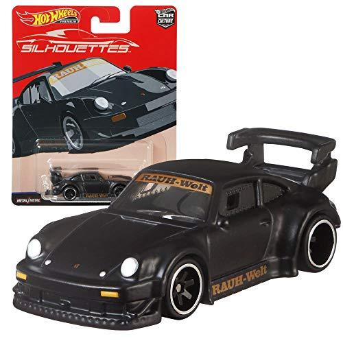 Hot Wheels Car Culture Super Silhouettes Premium Cars Set | Coche Mattel FPY86, Vehículo:RWB Porsche 930