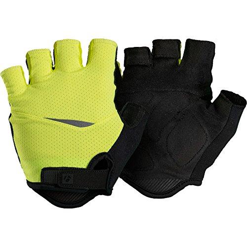 Bontrager Circuit Fahrrad Handschuhe kurz gelb/schwarz 2021: Größe: S (7)