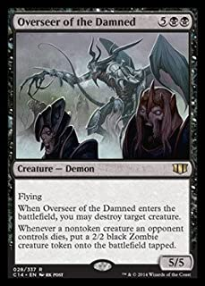 Magic: the Gathering - Overseer of the Damned - Commander 2014