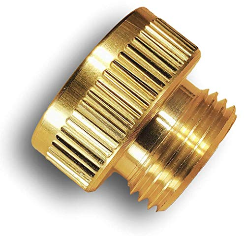 Spigotmaster ~ SM-XL Vacuum Breaker Adapter ~ Turns a NIBCO, Watts or Cambridge Brass Anti-Siphon Hose Bib Into a Straight Through Connection for Your Garden Hose or Timer