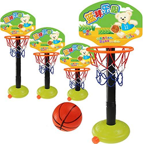 Alan 112cm Canasta Baloncesto Infantil Ajustable Mini Aro de Baloncesto para Niños