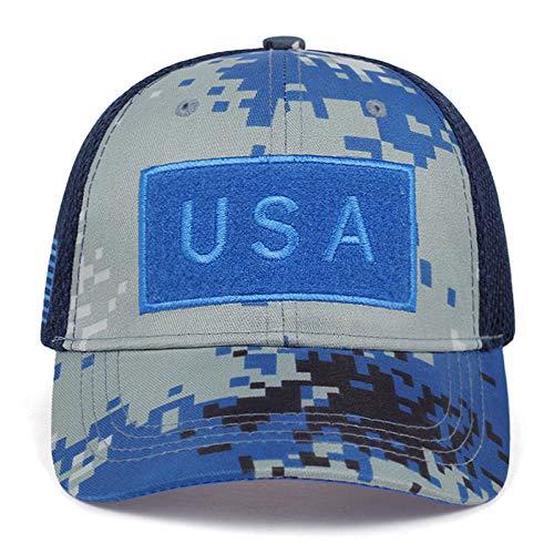 PPSTYLE Casquette De Camouflage Tactique De L'Armée en Plein Air Jungle Snapback Hat pour Femmes Chapeau De Papa en Os-E