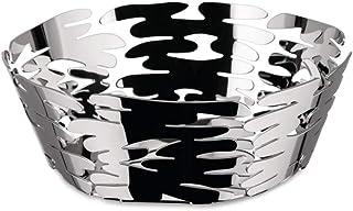 Alessi Barket BM10/18 - Centre de Table Design avec Décorations Ajourée, Acier Inox 18/10, 18 cm