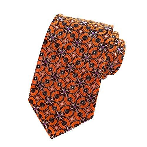 Neckties 67 colores nueva corbata de seda para el hombre Jacquard 8 cm de moda floral flor Pasiley corbata de negocios boda fiesta corbata Cravat regalo para él