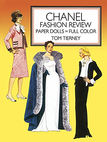 Chanel Fashion Review: Paper Dolls in Full Color: Paper Dolls in Color (Dover Paper Dolls)