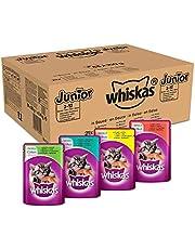 Whiskas Kattenvoer, Hoogwaardig Nat Voer In Verschillende Smaken, 84 Porties