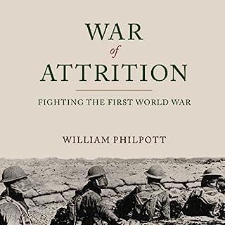War of Attrition audiobook cover art
