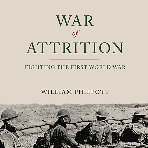 War of Attrition audiobook cover art
