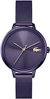 Lacoste Women's Brown Dial Ionic Plated Brown Steel Watch - 2001130