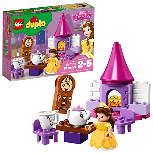 LEGO DUPLO Disney Belle's Tea Party 10877 Building Blocks (19 Pieces) (Discontinued by Manufacturer)