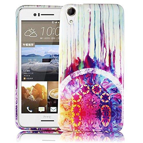 thematys Passend für HTC Desire 728G TRAUMFÄNGER Silikon Silikon Schutz-Hülle weiche Tasche Cover Case Bumper Etui Flip Smartphone Handy Backcover Schutzhülle Handyhülle