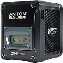 Anton Bauer CINE 90 14.4V 90Wh V-Mount Lithium Ion Battery for Digital Cinema Cameras and Camera Stabilizer Systems
