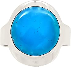 Xtremegems Smithsonite 925 Sterling Silver Ring Jewelry Size 10 24385R