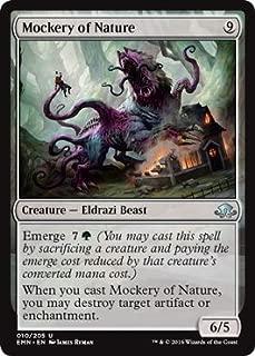Magic: the Gathering / Mockery of Nature(010) - Eldritch Moon / A English Single individual Card