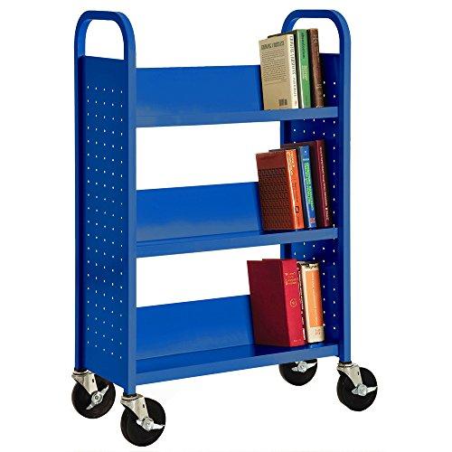 Sandusky Lee SL327-06 Single Sided Sloped Shelf Welded Bookcase, 14