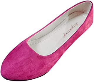 ♪✿ Women Flat Shoes Comfortable Slip On Pointed Toe Casual Comfortable Flats,Ballet Flats