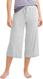 Light Gray Heather Lounge Sleep Capri Pants