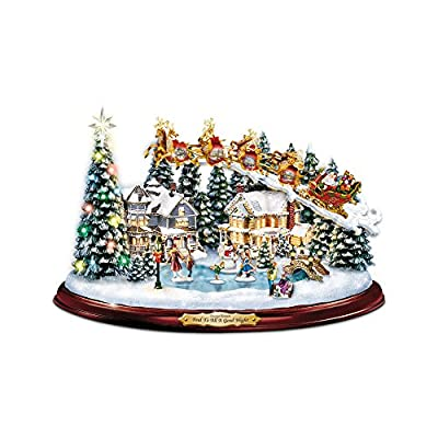 Thomas Kinkade Collectable Christmas Village Village  'And To All A Good Night'