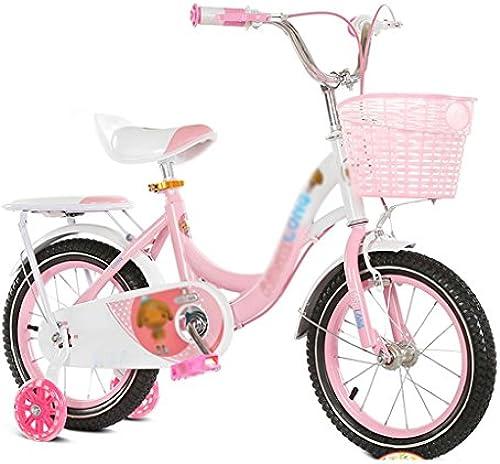 Kinderfahrrad DWW Kinder Fahrrad Hohe kohlenstoffstahl dicken Reifen Flash-Rad komfortable und verstellbar