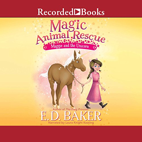 Maggie and the Unicorn audiobook cover art