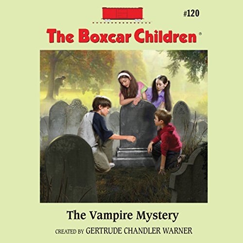 The Vampire Mystery audiobook cover art