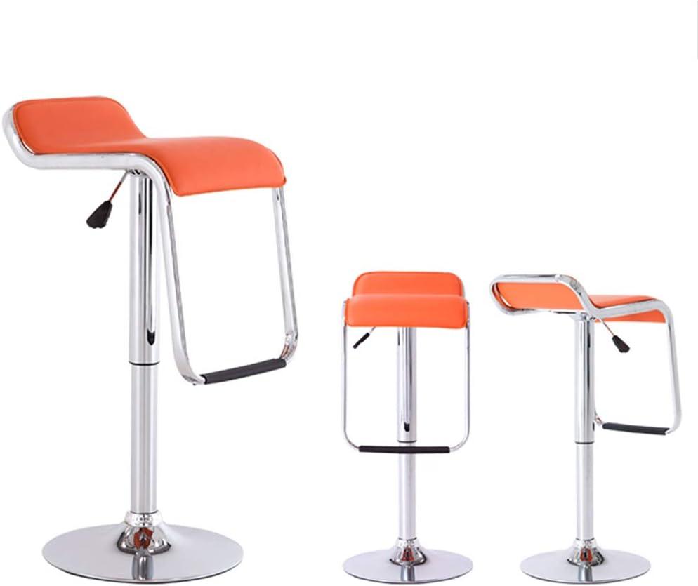 Tabouret de bar de petit déjeuner Tabouret de bar, chaise pivotante d'ascenseur de mode moderne, bureau d'hôtel (Couleur : H) H