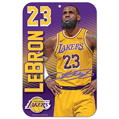 WinCraft LeBron James Cleveland Cavaliers skåp rum NBA-skylt