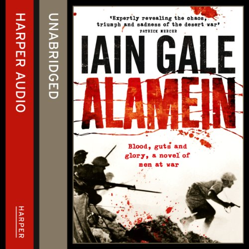 Alamein audiobook cover art