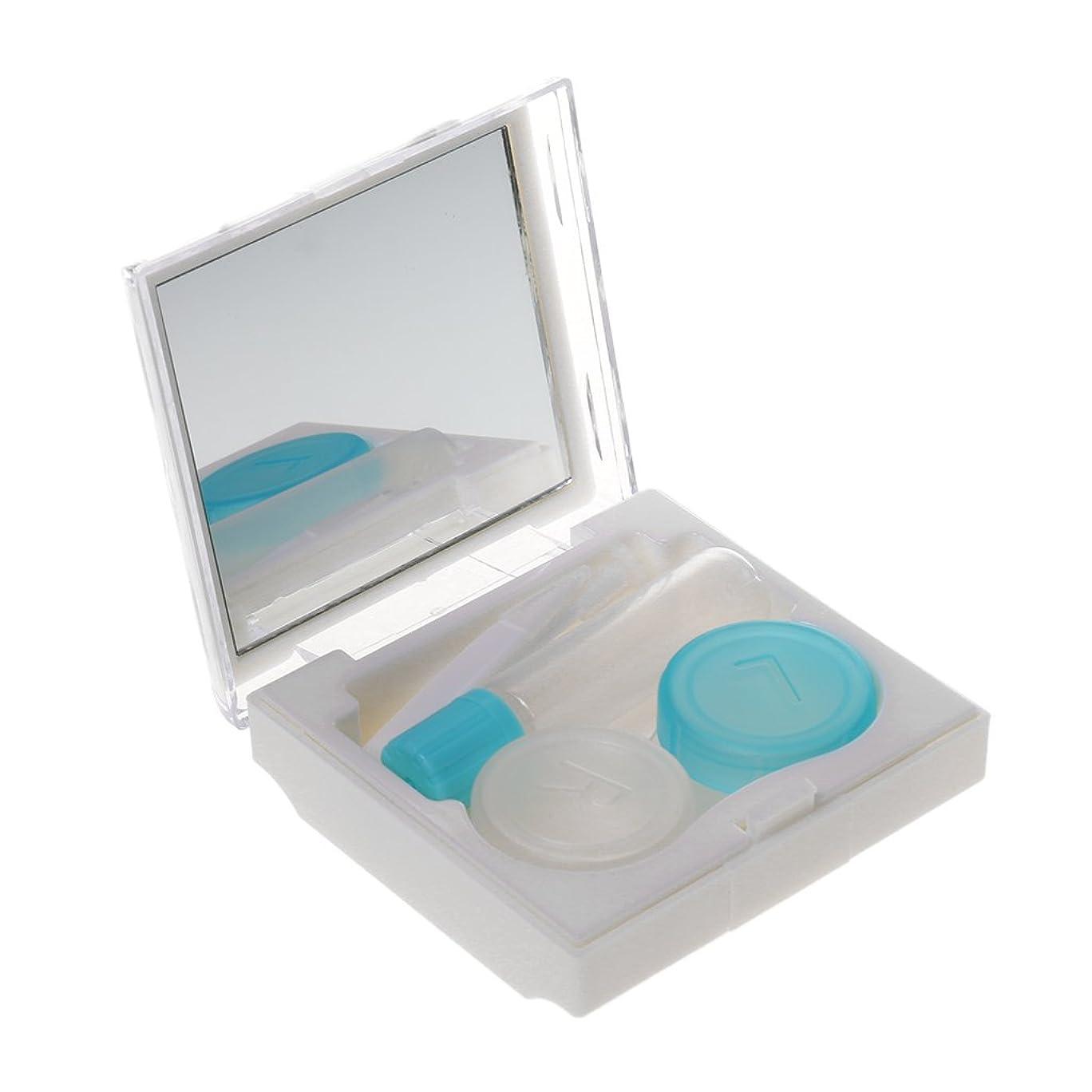 ソーダ水資料気分が良いchiwanji コンタクトケース コンタクトレンズケース 収納 持ち運びやすい
