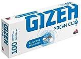 1000 (10x100) GIZEH Fresh CliQ (Hülsen, Filterhülsen,