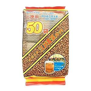 ハラダ製茶 徳用江戸麦茶パック 50p ×3袋 ティーバッグ