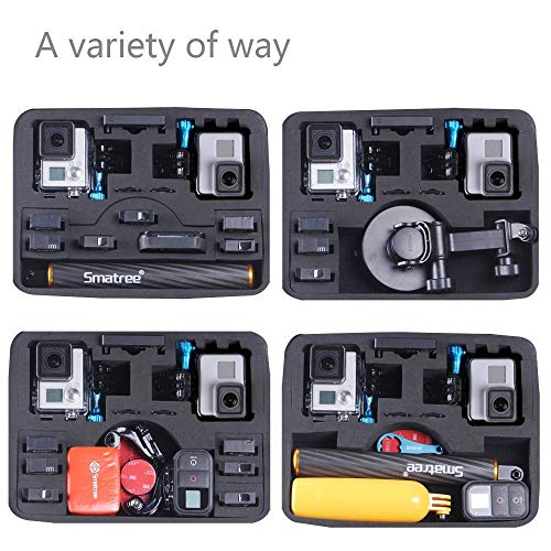 Smatree Carrying Case Compatible for GoPro Hero 7/6/5/4/3+/3/ GoPro Hero 2018(Cameras and Accessories NOT Included)