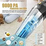 Zoom IMG-1 aspirapolvere portatile 9000pa 120w aspirabriciole