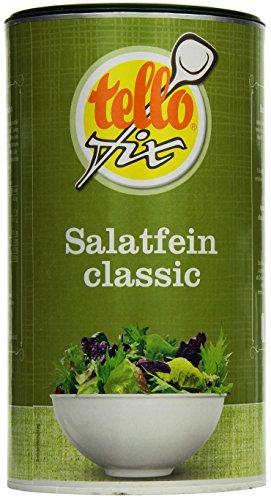 tellofix Salatfein Classic - Salatwürze zur schnellen Zubereitung von Salatdressing - vegan - 1 x 800 g