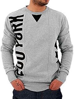 Zoo York Mens Boys Hip Hop Black Grey Star Sweatshirts Jumper Skater