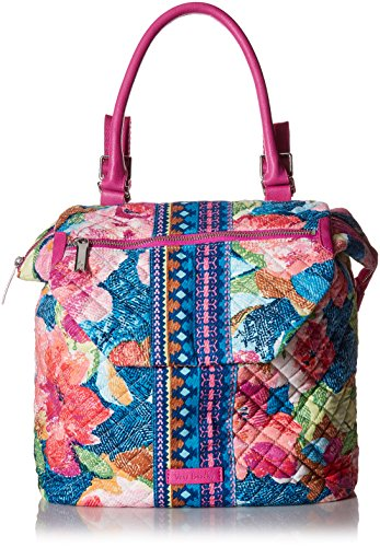 Vera Bradley Women's Signature Cotton Change It Up Backpack, Superbloom