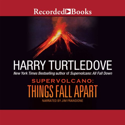 Supervolcano audiobook cover art