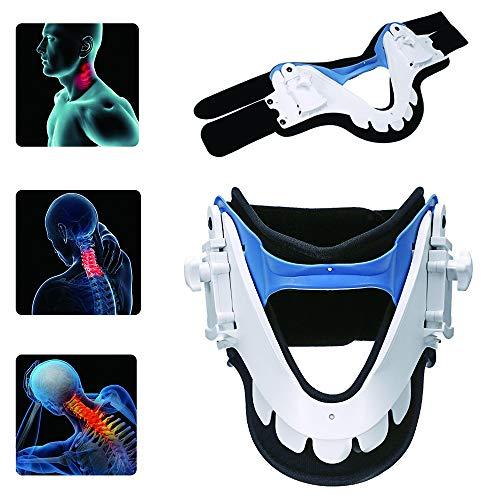 SJLHP Dispositivo De Tracción Cervical, Cuidado Casero del Cuello para Aliviar El Dolor Y La Compresión, Collarín para Una Mejor Alineación De La Columna