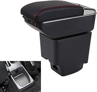 Maiqiken auto box bracciolo bracciolo per Kaptur Captur QM3 posacenere contenitore interno auto styling accessori decorativi Nero