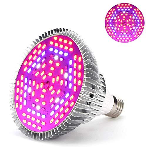 LED-Pflanzenlampe 50 W, E27, Lampe für das Wachstum von Pflanzen, Gartenbau, Leuchtmittel für Garten 50w
