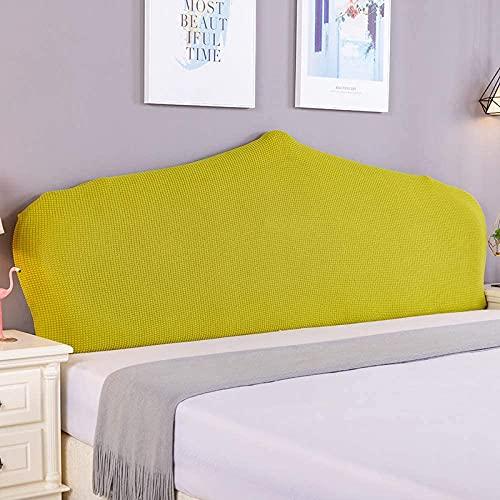 Almohadas de lectura Cubierta de cabecera de cama, tornillo de cama todo incluido elástico Hussas, cubierta de cubierta de cubierta de cabeza a prueba de polvo cubierta de protector lavable Cabeceros