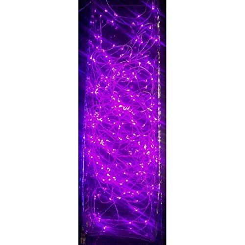 Guirlande cascade intérieur 700 LED - 3,5 m - Rose