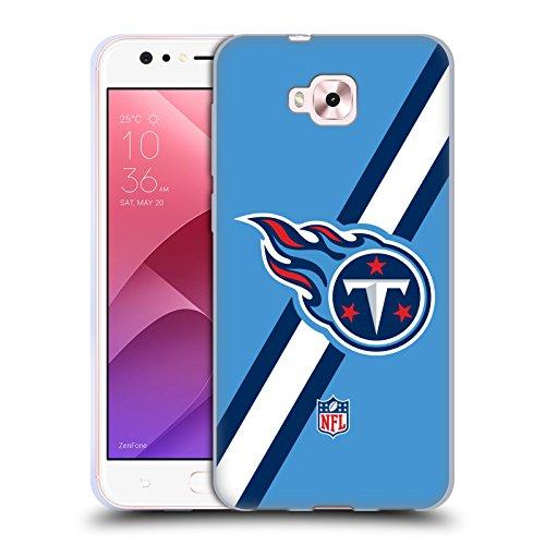 Head Case Designs Oficial NFL Rayas Logotipo de Titanes de Tennessee Carcasa de Gel de Silicona Compatible con Zenfone 4 Selfie ZD553KL