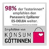 Panasonic Epilierer 6-in-1 Epiliergerät Damen, Wet & Dry - 10