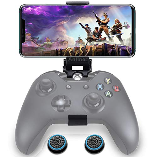 WEPIGEEK Foldable Controller Mobile Phone Holder/Cellphone Clamp/Clip Compatible with Microsoft Xbox One/Xbox One S/Steelseries Nimbus/SteelSeries Stratus XL/Steam Controllers(not Controller)