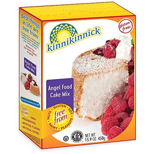 Kinnikinnick Gluten Free Angel Food Cake Mix, 15.9oz/450g (Pack of 6)