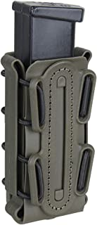IDOGEAR 9mm Mag Pouch Pistol Magazine Pouch Soft Shell Fast Magazine Pouch Tactical Mag Carrier Hunting Airsoft Gear