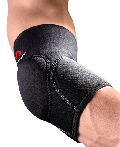McDavid Deluxe Elbow Pad Sleeve. Elbow Guard Padding. Compression, Protection and Support (Single Sleeve)